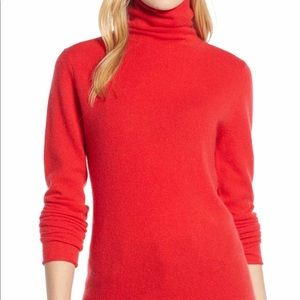 Cashmere sweater/ funnel neck size XS NEW